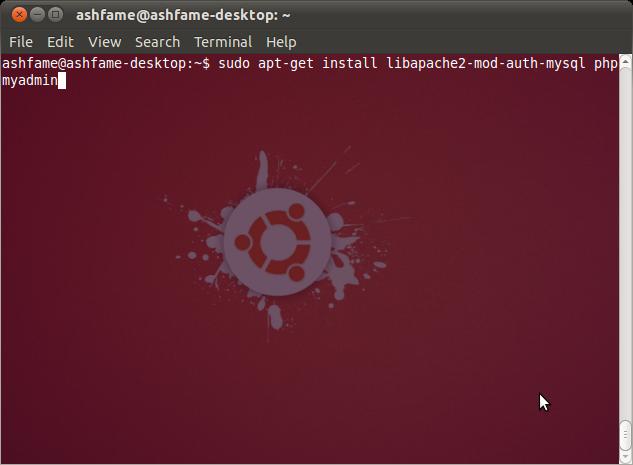 phpmyadmin-install