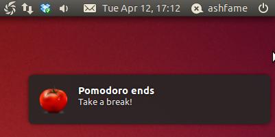 pomodoro ends